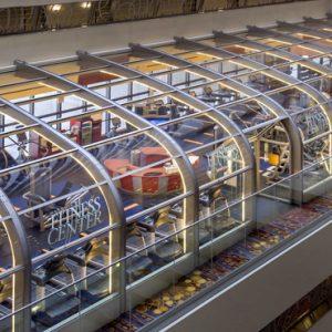 New York Honeymoon Packages New York Marriott Marquis Fitness Center Exterior