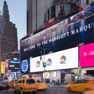 New York Honeymoon Packages New York Marriott Marquis Hotel Exterior