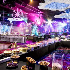 New York Honeymoon Packages New York Marriott Marquis Wedding Setup
