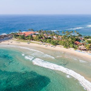 Sri Lanka Honeymoon Packages Dickwella Resort And Spa Aerial View Of Hotel