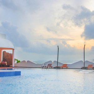 Sri Lanka Honeymoon Packages Dickwella Resort And Spa Pool View