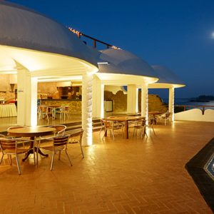 Sri Lanka Honeymoon Packages Dickwella Resort And Spa Restaurant Pool At Night1