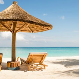 Tanzania Honeymoon Packages Zuri Zanzibar Beach Sunbeds