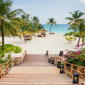 Tanzania Honeymoon Packages Zuri Zanzibar Beach View1