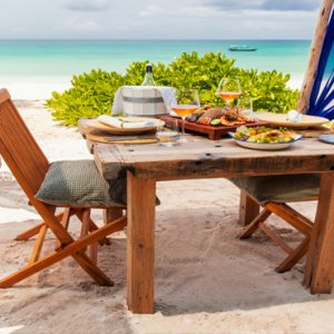Tanzania Honeymoon Packages Zuri Zanzibar Lunch On The Beach