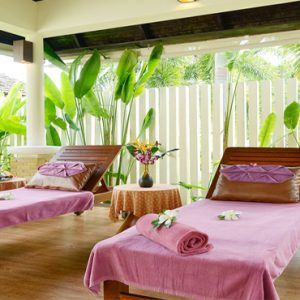 Thailand Honeymoon Packages Bhu Nga Thani Resort And Spa Couple Spa Deck