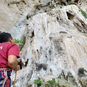 Thailand Honeymoon Packages Bhu Nga Thani Resort And Spa Rock Climbing