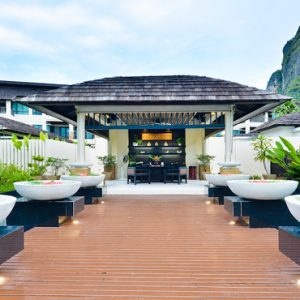 Thailand Honeymoon Packages Bhu Nga Thani Resort And Spa Spa Entrance