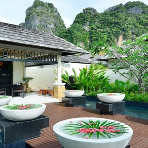 Thailand Honeymoon Packages Bhu Nga Thani Resort And Spa Spa Entrance1