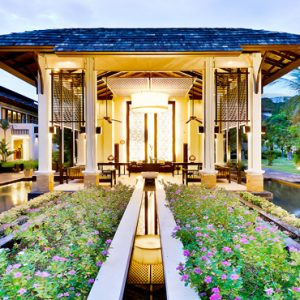 Thailand Honeymoon Packages Bhu Nga Thani Resort And Spa Hotel Entrance