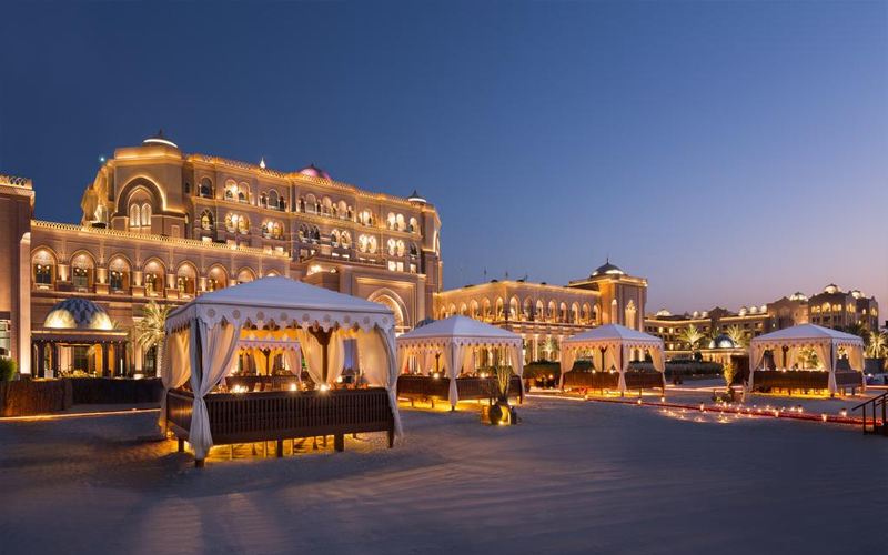 Top 10 Romantic Things To Do In Abu Dhabi Dinner At Emirates Palace