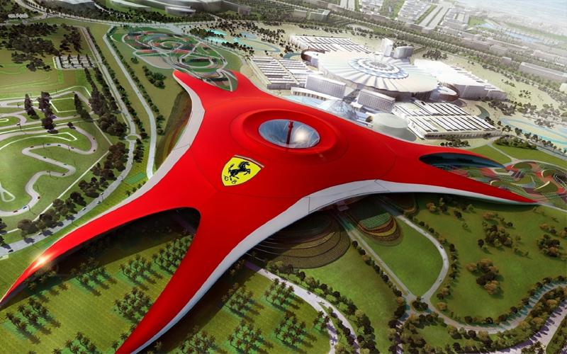 Top 10 Romantic Things To Do In Abu Dhabi Ferrari World