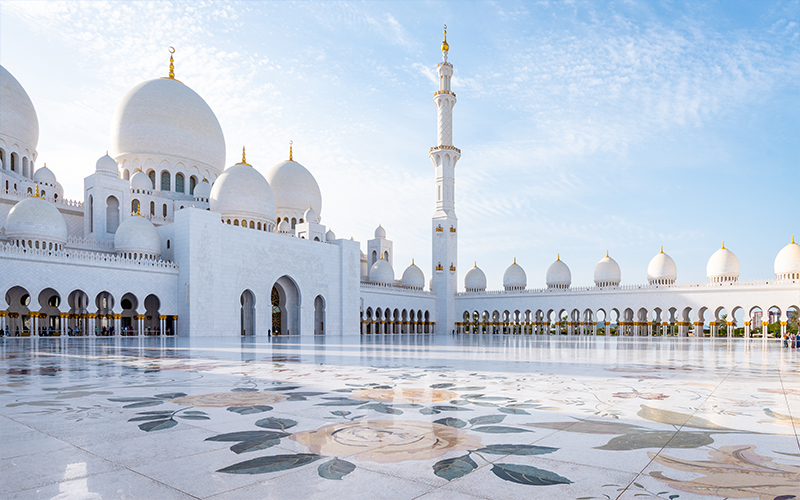 Top 10 Romantic Things To Do In Abu Dhabi Sheikh Zayed Grand Mosque Centre