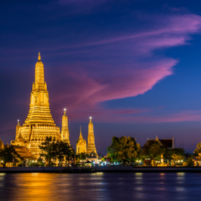 Bangkok Waterways & The Temple of Wat Arun - Thailand Honeymoon Packages and Excursions
