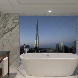 Dubai Honeymoon Packages Taj Dubai Bath With A View