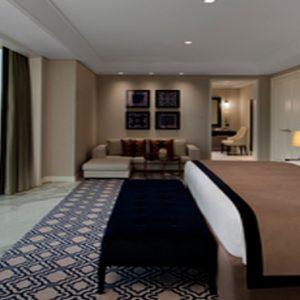 Dubai Honeymoon Packages Taj Dubai Grand Luxury Suite Burj View