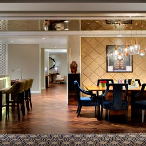 Dubai Honeymoon Packages Taj Dubai Grand Luxury Suite Burj View2