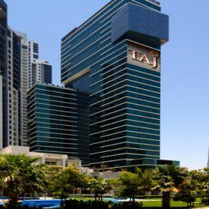 Dubai Honeymoon Packages Taj Dubai Hotel Exterior