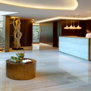 Dubai Honeymoon Packages Taj Dubai JIVA Spa Lobby