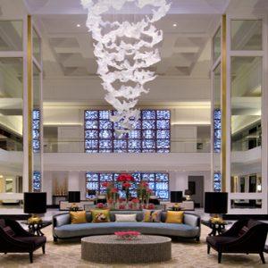 Dubai Honeymoon Packages Taj Dubai Lobby1