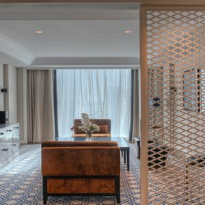 Dubai Honeymoon Packages Taj Dubai Luxury Burj View Suite2