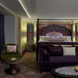 Dubai Honeymoon Packages Taj Dubai Maharaja Suite