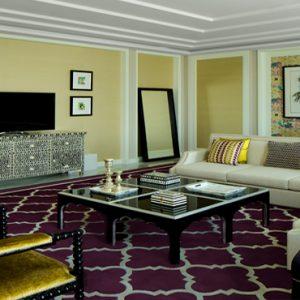 Dubai Honeymoon Packages Taj Dubai Maharaja Suite2