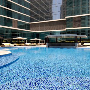 Dubai Honeymoon Packages Taj Dubai Pool