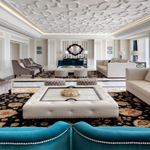 Dubai Honeymoon Packages Taj Dubai Presidential Suite