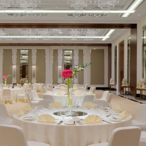 Dubai Honeymoon Packages Taj Dubai Wedding Dining Setup1