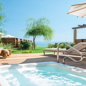 Greece Honeymoon Packages Domes Miramare, Corfu Jacuzzi
