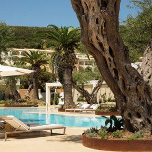 Greece Honeymoon Packages Domes Miramare, Corfu Pool Bar
