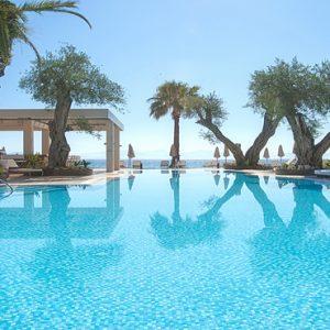 Greece Honeymoon Packages Domes Miramare, Corfu Pool1