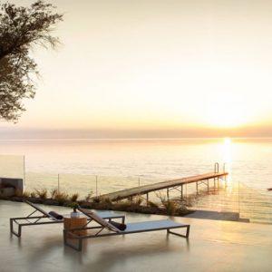 Greece Honeymoon Packages Domes Miramare, Corfu Sunset Pier
