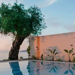 Greece Honeymoon Packages Domes Miramare, Corfu Villa Pool Views