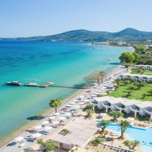Greece Honeymoon Packages Domes Miramare, Corfu Aerial View