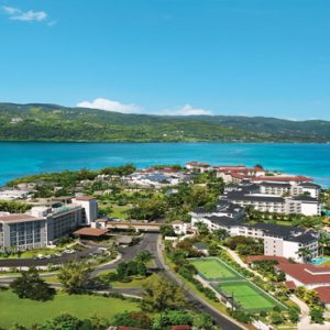Jamaica Honeymoon Packages Breathless Montego Bay Resort & Spa Aerial View