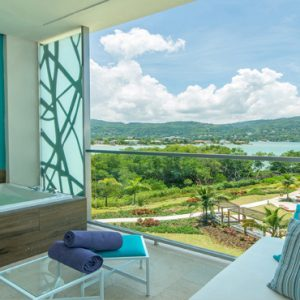Jamaica Honeymoon Packages Breathless Montego Bay Resort & Spa Allure Junior Suite Tropical View3