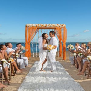 Jamaica Honeymoon Packages Breathless Montego Bay Resort & Spa Beach Wedding1