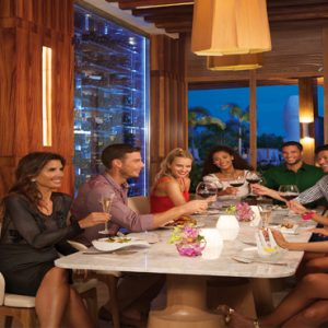 Jamaica Honeymoon Packages Breathless Montego Bay Resort & Spa Friends Toasting At Culinaria