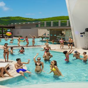 Jamaica Honeymoon Packages Breathless Montego Bay Resort & Spa Pool Party