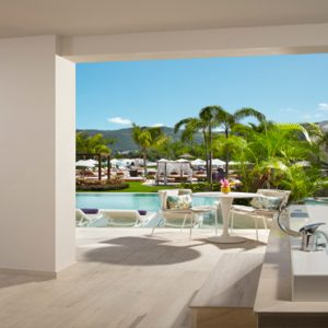 Jamaica Honeymoon Packages Breathless Montego Bay Resort & Spa Xhale Club Master Suite Swim Out