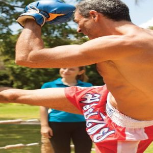 Koh Samui Honeymoon Packages Belmond Napasai Thai Boxing