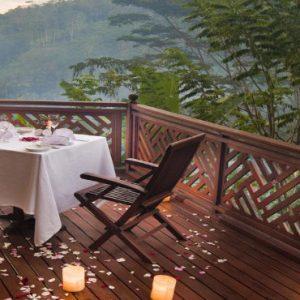 Luxury Bali Honeymoon Packages Kupu Kupu Barong Villas Balcony