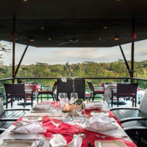 Luxury Bali Honeymoon Packages Kupu Kupu Barong Villas La View Restaurant 1