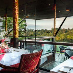 Luxury Bali Honeymoon Packages Kupu Kupu Barong Villas La View Restaurant