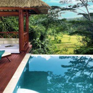 Luxury Bali Honeymoon Packages Kupu Kupu Barong Villas Pool View