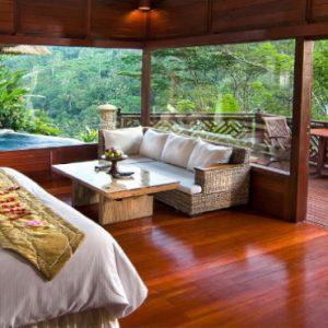 Luxury Bali Honeymoon Packages Kupu Kupu Barong Villas River Front Pool Villa 1