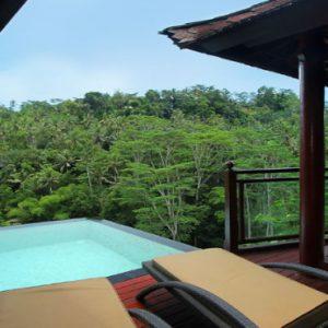 Luxury Bali Honeymoon Packages Kupu Kupu Barong Villas River Front Pool Villa 4