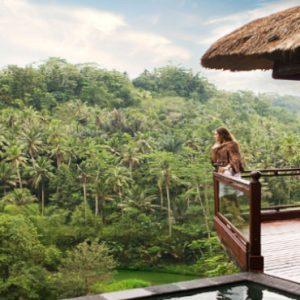Luxury Bali Honeymoon Packages Kupu Kupu Barong Villas River Front Pool Villa